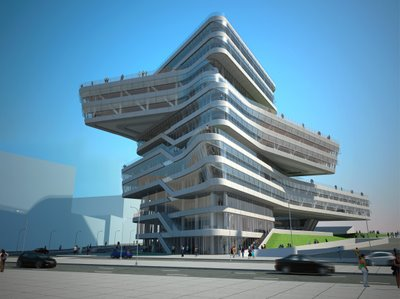 Spiral Tower by Zaha Hadid 00
