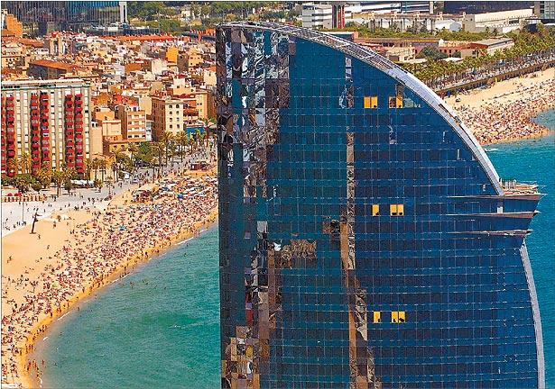 Barcelona w hotel barcelona for W barcelona bar